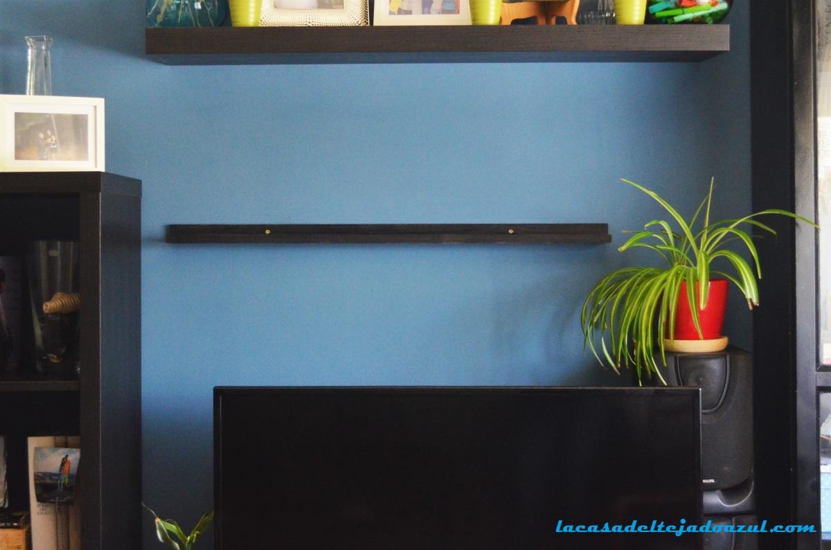 DIY: Cómo hacer un estante para cuadros