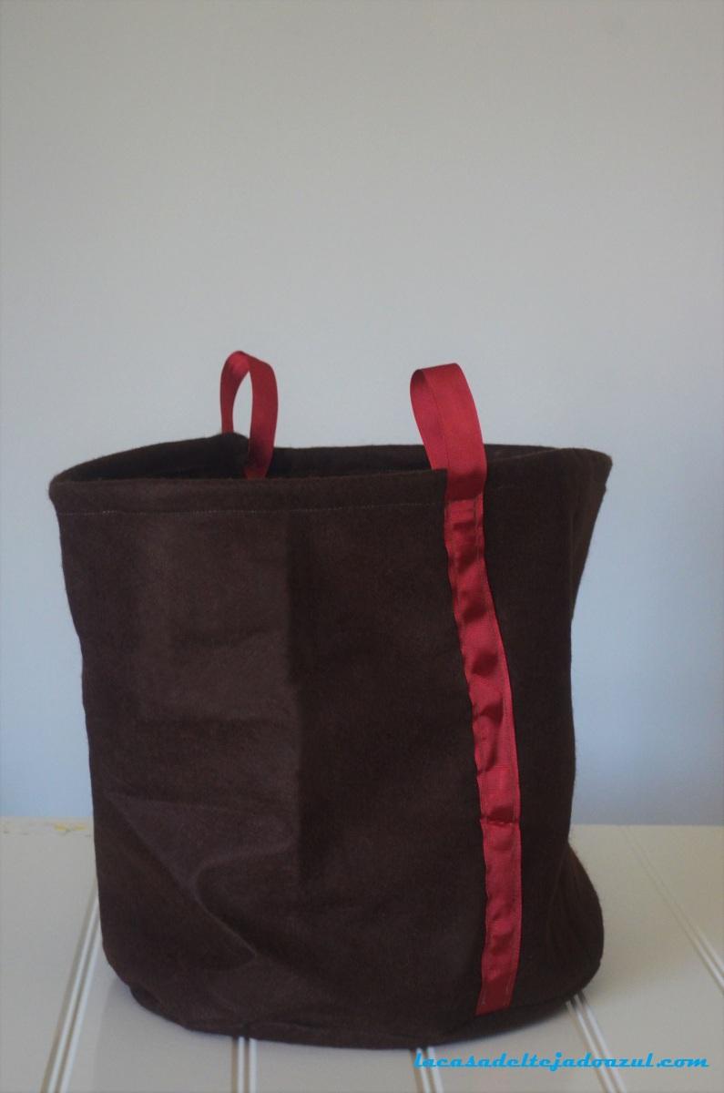 DIY: Cómo hacer una cesta de tela